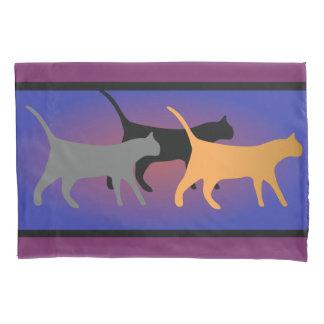 Cat Trio Pillow Case