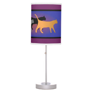 Cat Trio Table Lamp