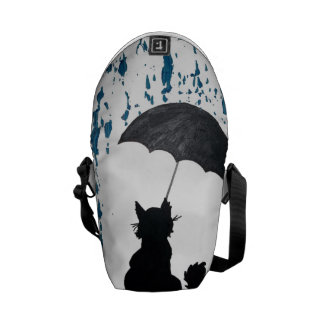 Cat Under Umbrella Commuter Bag