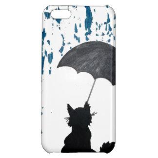 Cat Under Umbrella Cover For iPhone 5C