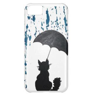 Cat Under Umbrella iPhone 5C Cover