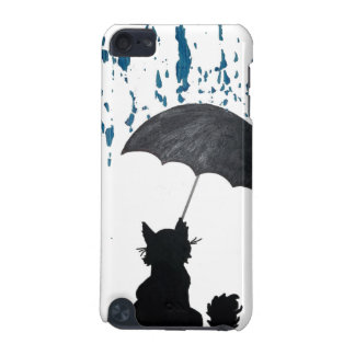 Cat Under Umbrella iPod Touch (5th Generation) Covers