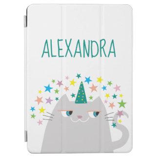 Cat Unicorn Caticorn Stars Magic Cute Custom Funny iPad Air Cover