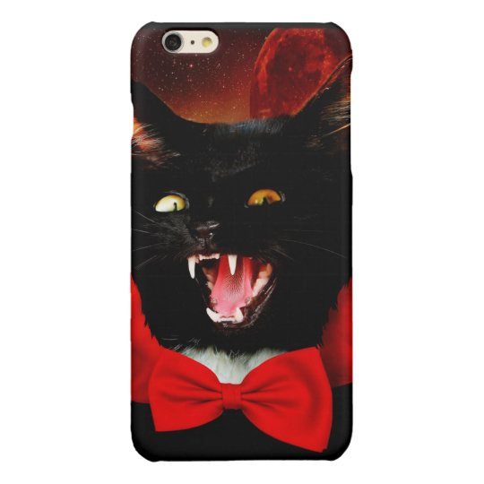 cat vampire - black cat - funny cats