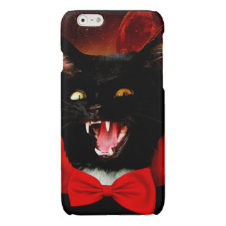 cat vampire - black cat - funny cats
