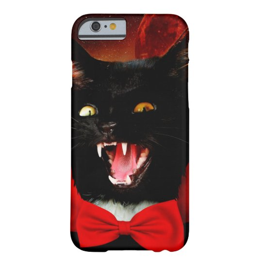 cat vampire - black cat - funny cats barely there iPhone 6 case