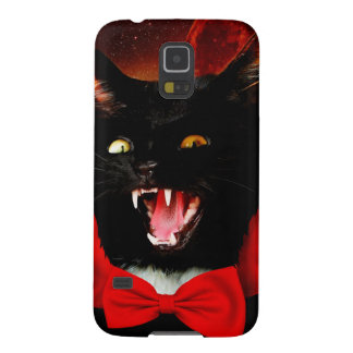 cat vampire - black cat - funny cats galaxy s5 cases