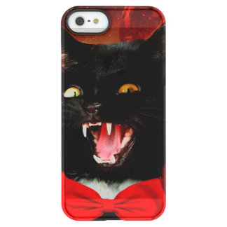cat vampire - black cat - funny cats permafrost® iPhone SE/5/5s case