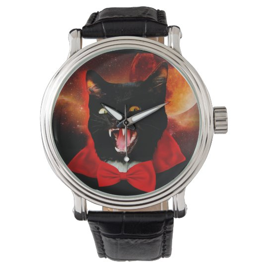 cat vampire - black cat - funny cats watch
