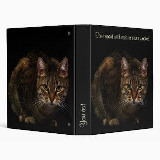 Cat Vinyl Binder
