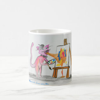 Cat Vomit Artist Coffee Mug