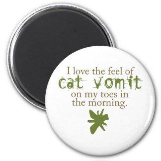 Cat Vomit Magnet