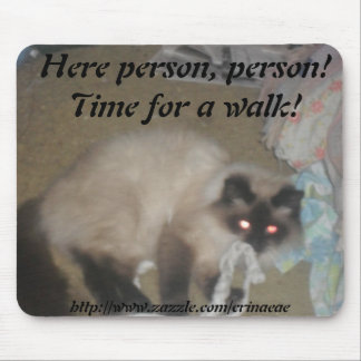 Cat Walk Mousepad