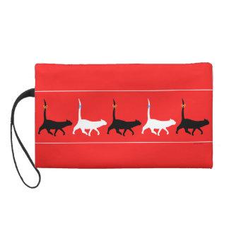 Cat Walk Wristlet