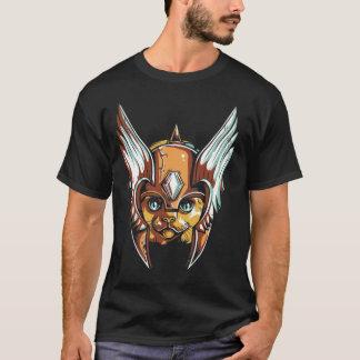 Cat Warrior Design T-Shirt
