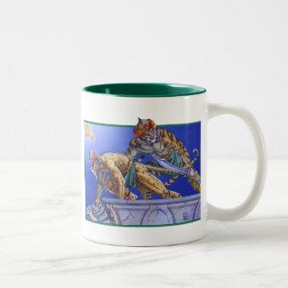 Cat Warriors Two-Tone Coffee Mug