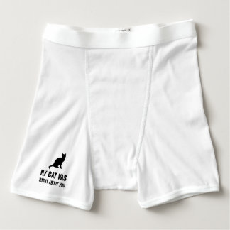 Cat Was Right Boxer Briefs