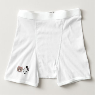 Cat Wedding Couple Zn557 Boxer Briefs