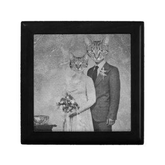 Cat wedding gift box