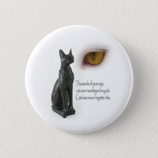Cat Were Gods 2 Inch Round Button