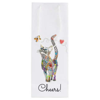 Cat Wine Bag (You can Customize)
