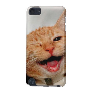 Cat winking - orange cat - funny cats - cat smile iPod touch 5G covers