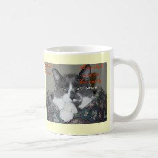 Cat Wisdom Coffee Mugs