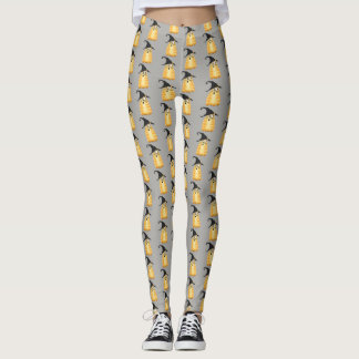 Cat Witch Halloween Leggings