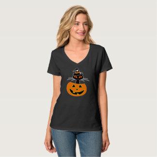 Cat Witch Halloween Shirt