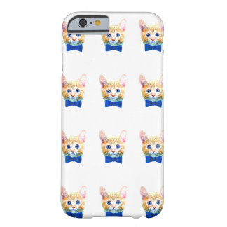 Cat with a bow tie barely there iPhone 6 case