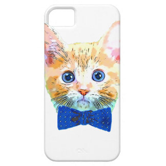 Cat with a bow tie iPhone 5 covers