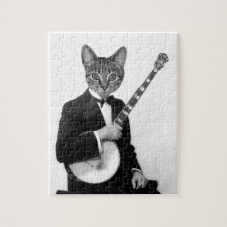 Cat with Banjo Puzzles