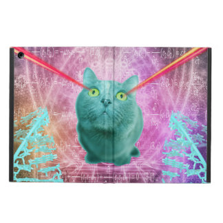 Cat with laser eyes case for iPad air