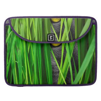 Cat with Leaf and Special Eyes MacBook Pro Sleeve