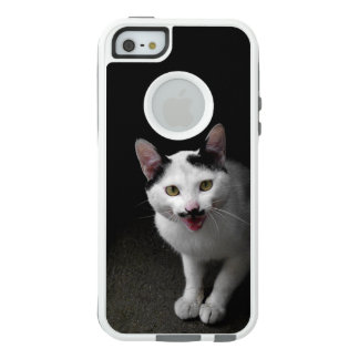 Cat with Mustache OtterBox iPhone 5/5s/SE Case