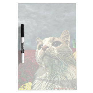 "Cat ""Wizard of Oz"" Baum Humor Dry Erase Board"