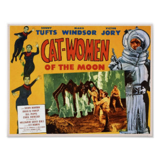 Cat Women of the Moon Poster