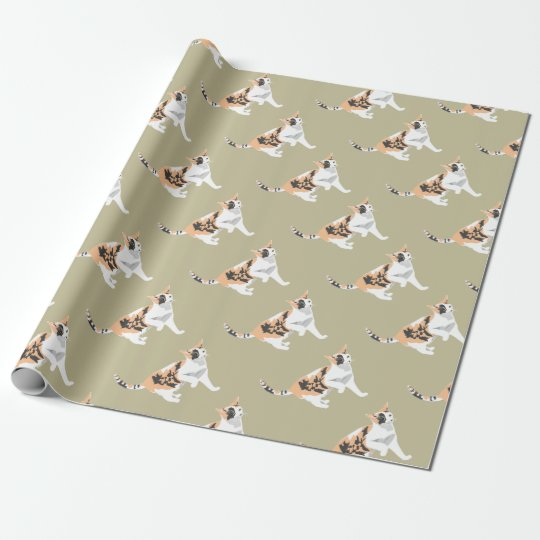 Cat Wrapping Paper