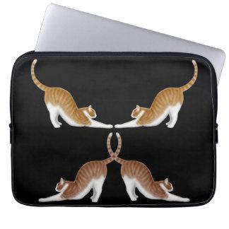 Cat Yoga Electronics Bag
