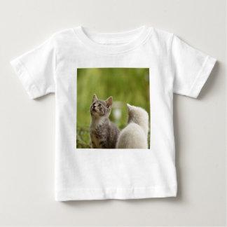 Cat Young Animal Curious Wildcat Animal Nature Baby T-Shirt