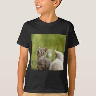 Cat Young Animal Curious Wildcat Animal Nature T-Shirt