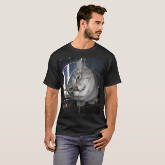 Cat_Yucky_Face_Mens_Tshirt T-Shirt