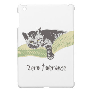 Cat Zero Tolerance iPad Mini Case