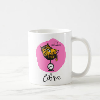 Cat Zodiac, Libra Mug w/Quote