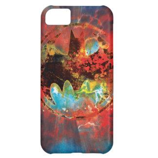 Cataclysmic Bat Logo iPhone 5C Covers