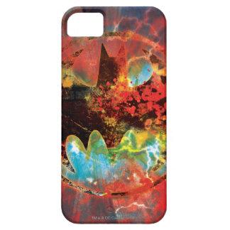 Cataclysmic Bat Logo iPhone 5 Case