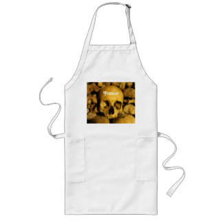 Catacombs in France Long Apron