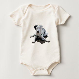 Catahoula Cur Laying Down Baby Bodysuit