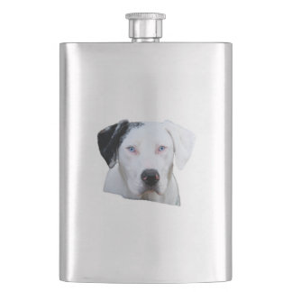 Catahoula Hound Dog Hip Flask