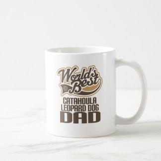 Catahoula Leopard Dog Dad (Worlds Best) Coffee Mug